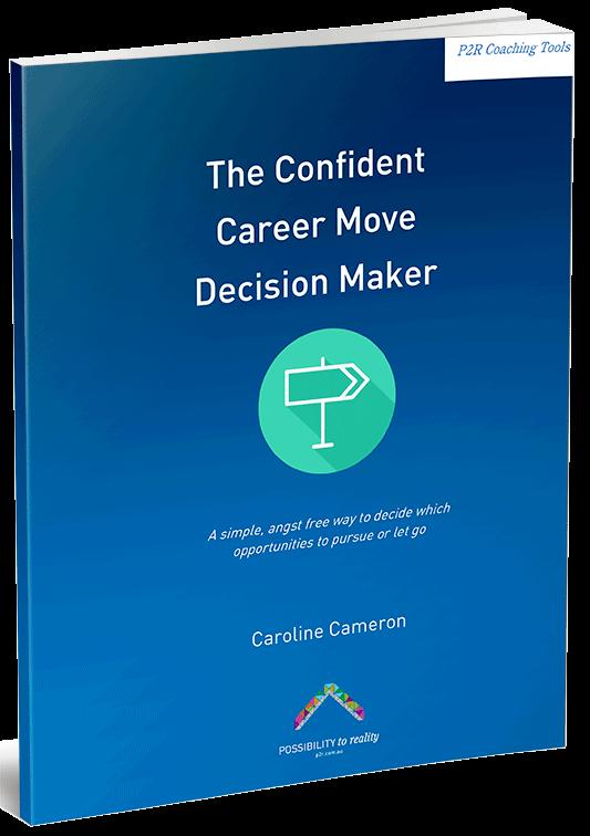 Confident Career Move Decision Maker