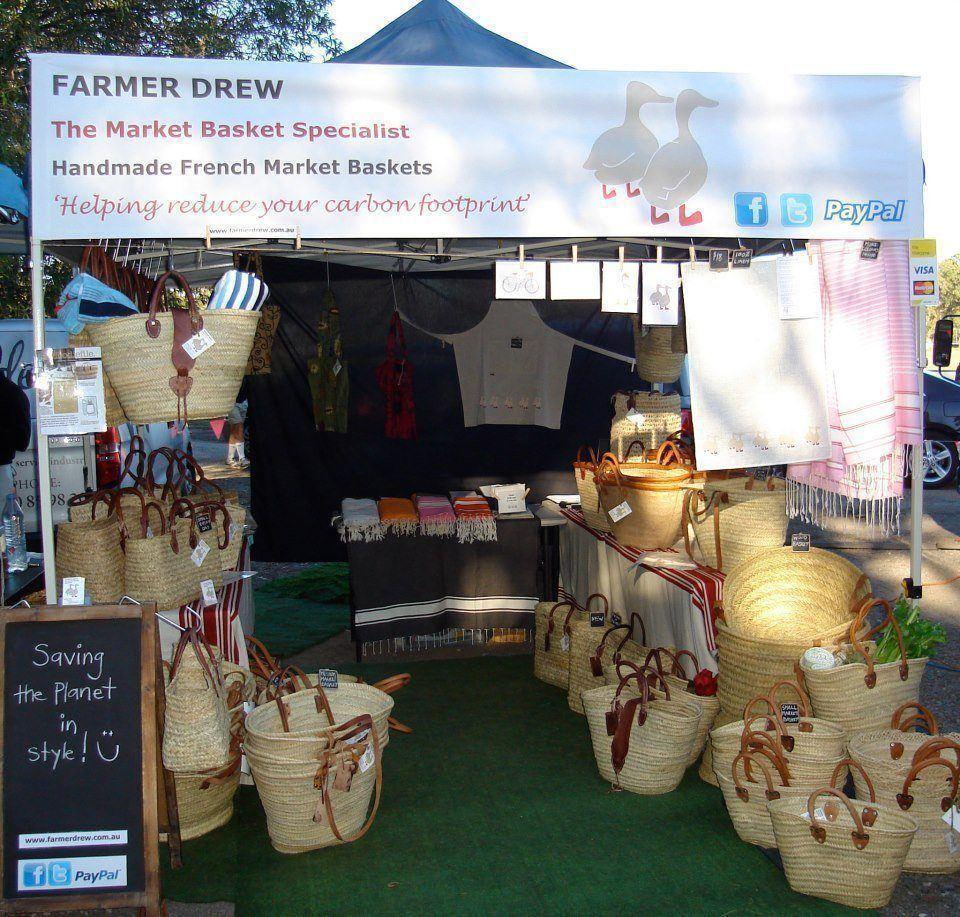 Farmer Drew Stall at Noosa Farmers Market